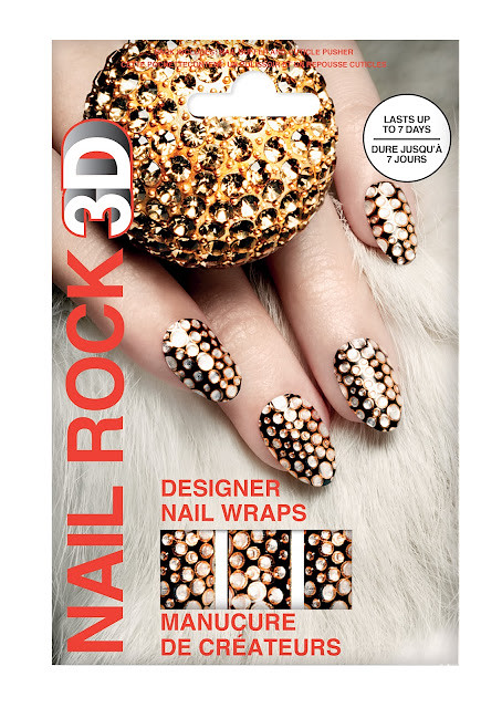 Nail Rock 3d Nail Wraps For Christmas 2012 News Beautyalmanac