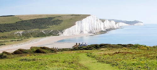 panorama sevensisters sussexdowns canon450d