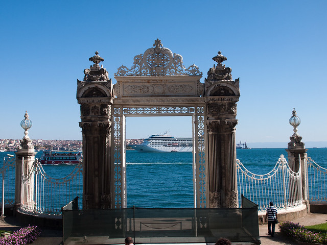 Gate towards the Bosphorus strait