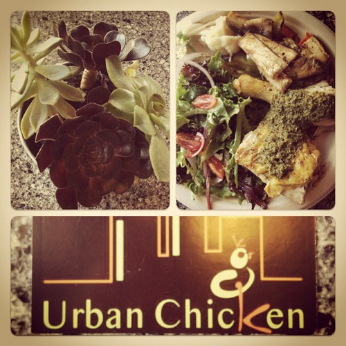My lunch @ Urban Chicken. Perfectly whole30 friendly. Love to see good food eating out.
