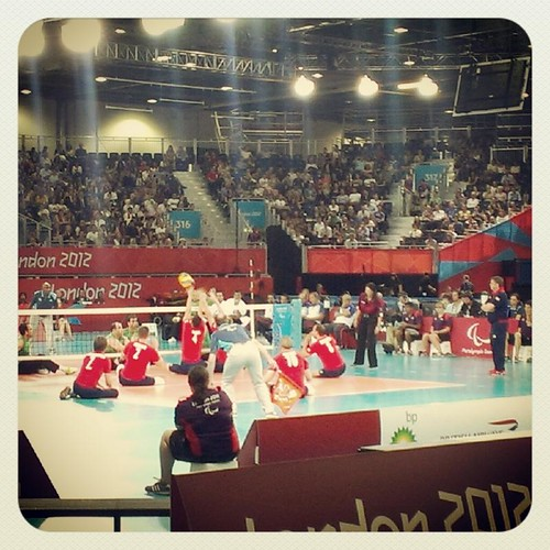 paralympic teamgb sitting volleyball