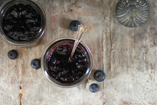 Confiture de myrtilles, épices et Pinot noir