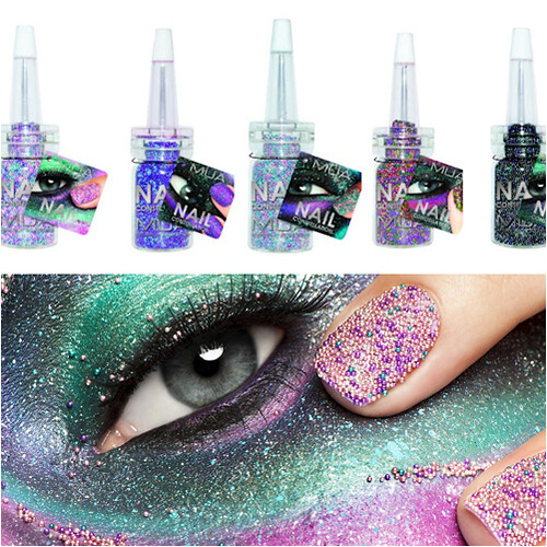MUA NEW Nail Constellation nail art