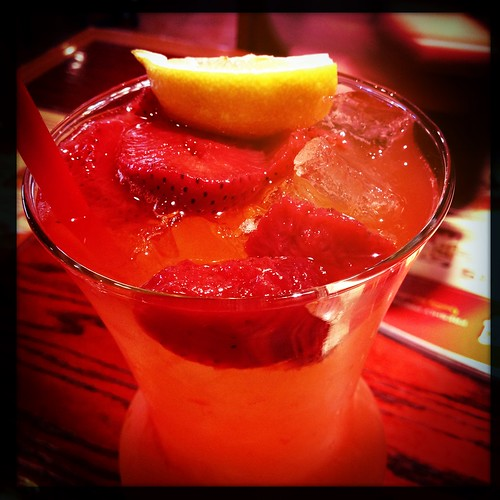 Absolut freckled lemonade