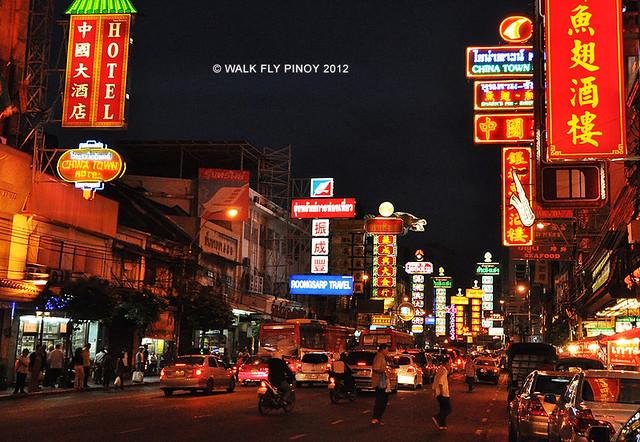 Yaowarat Road, Chinatown, Bangkok, Thailand