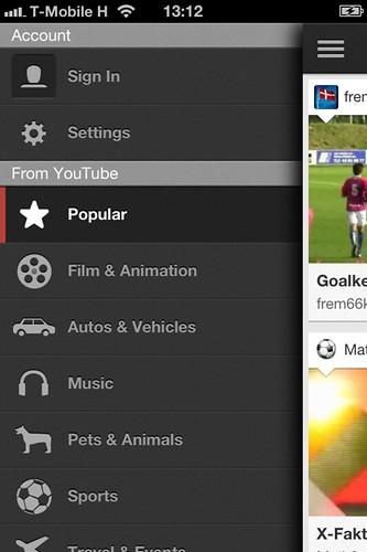 Hivatalos YouTube alkalmazás iOS-re #3