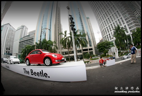 Volkswagen. VW. Das Auto. Show 2012.‏ @ KLCC (Kuala Lumpur Convention Centre) : The New Volkswagen Beetle is here!