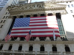 NYSE on Wallstreet  (New York, USA 2012)