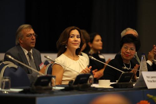 Crown Princess Mary at RC 62, Malta