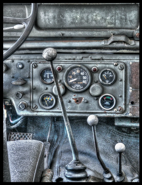 Old Jeep Interior (HDR)