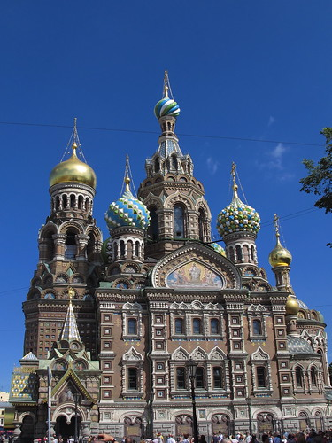 church of spilled blood, st petersburg