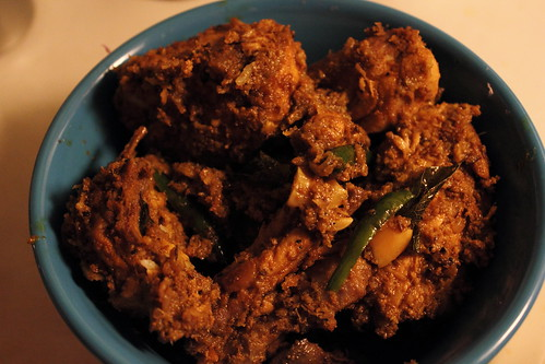 Kerala Chicken Roast Topview