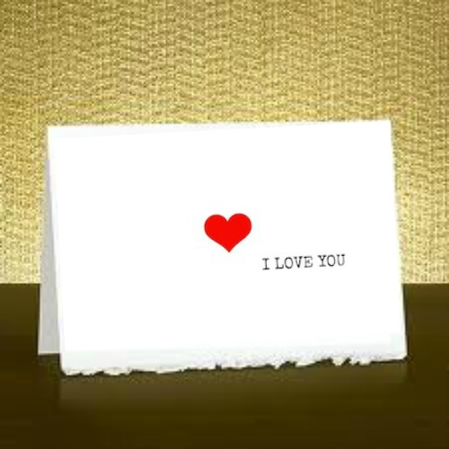 image relating to Printable I Love You Cards named Free of charge Printable: I-get pleasure from-by yourself card \