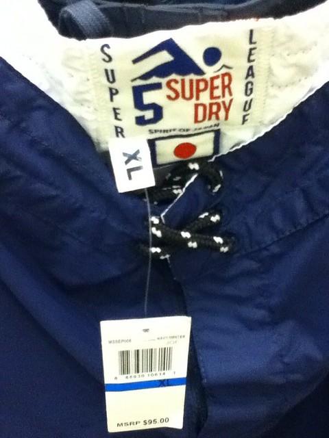 Superdry Swimwear $95 50% OFF