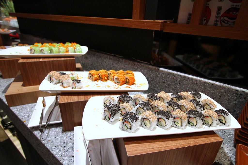 Kiseki日本自助餐餐厅:寿司精选柜台