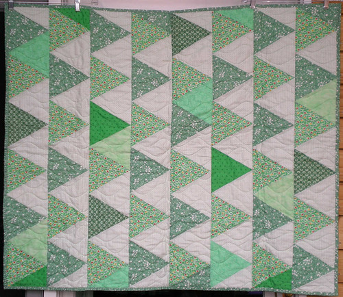 39x46 green triangle by Anonymous