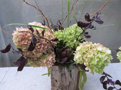 table arrangement by Shady Grove Gardens