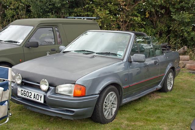 1990 ford escort 1 6 xr3i cabriolet flickr photo sharing. Black Bedroom Furniture Sets. Home Design Ideas