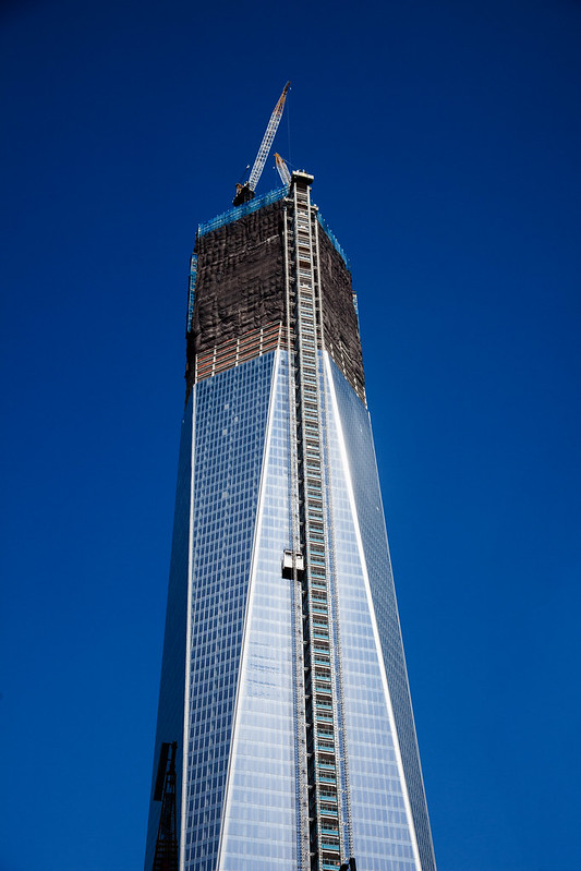 The Freedom Tower [EOS 5DMK2 | EF 24-105L@55mm | 1/1000s | f/6.3 | ISO200]