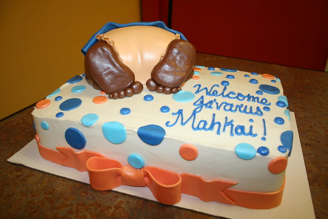 Baby Shower Cake - Midtown Cakes - Columbus, GA