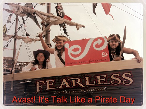 Urban Pirates and the Pratt Library: Avast! It's Talk Like a Pirate Day