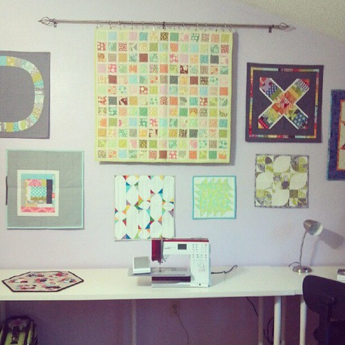 mini quilt wall <3