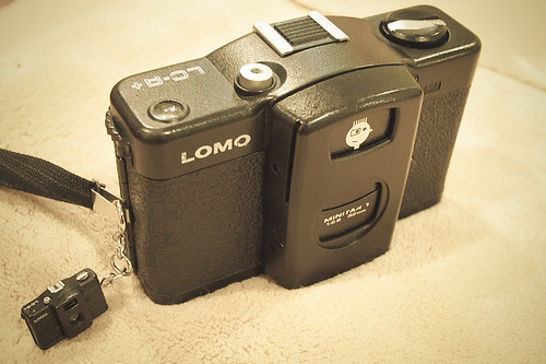 Lomo LC-A and its mini me