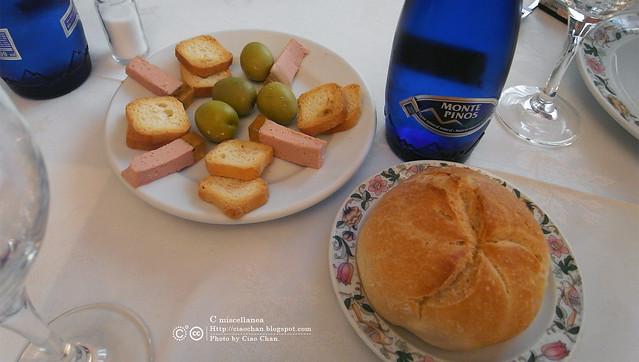 Hola Madrid~ 馬德里。La Panera 餐廳,花  €114  吃大餐!!!!!  R1043900