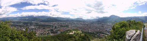 Panoramique depuis le mont Jalla (10mm)