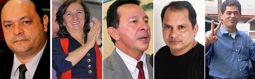Candidatos a prefeito de Santarém. Eleição 2012
