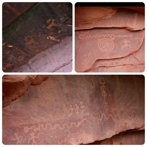 Zion Petroglyphs
