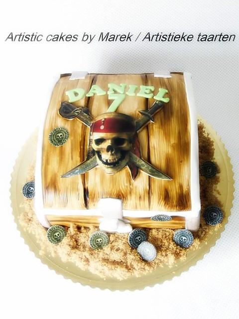 Pirate Cake by Marek Krystian