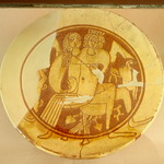 Byzantine incised sgraffito ware