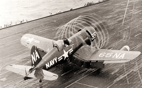 Vought F4U Corsair 'dynamic static'