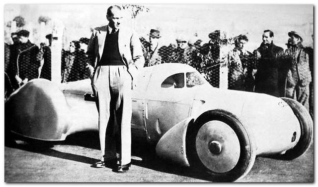 1935 Auto Union Rekordwagen Typ Lucca. Hans Stuck
