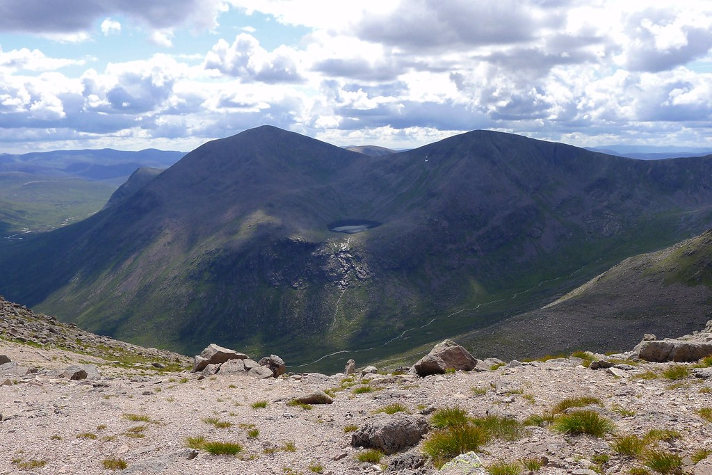 Cairn Toul and the Angel's Peak