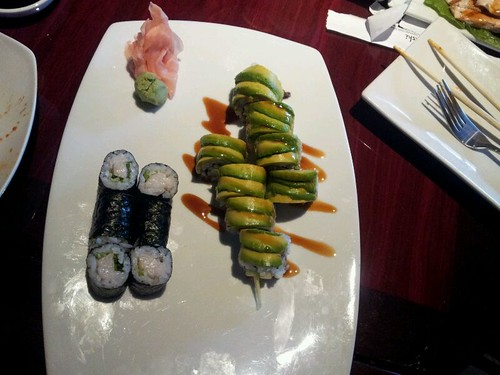 Yellow Tail and Scalion Roll @ Koi Sushi by vegita6879