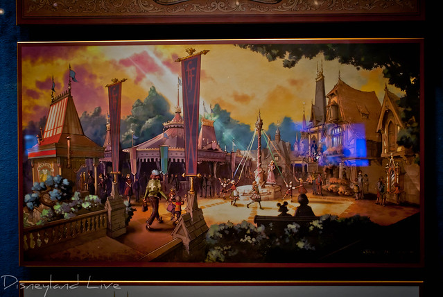 Fantasy Faire Concept Art - Disneyland Opera House