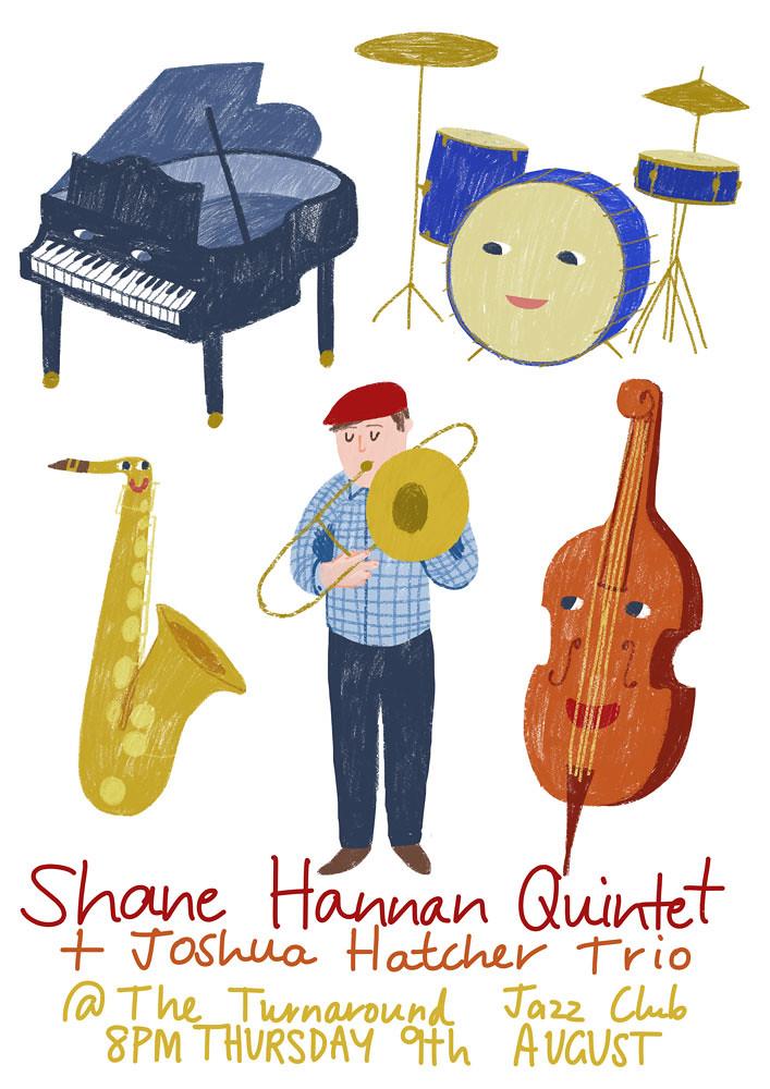 Shane Hannan quintet