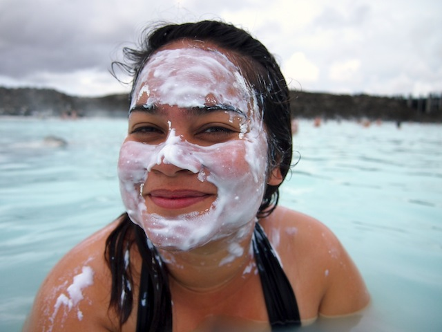 Silica mud mask Blue Lagoon