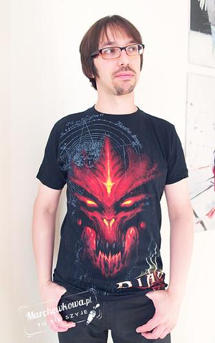 marchewkowa, blog, szycie, pan Marchewka, Diablo III, gry, recenzja, koszulki, tees, Jinx