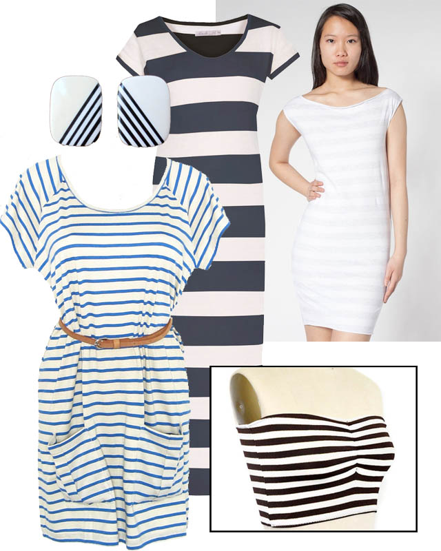 fair vanity, tuesday trend, nautical stripes, eco blog, made in the usa, organic