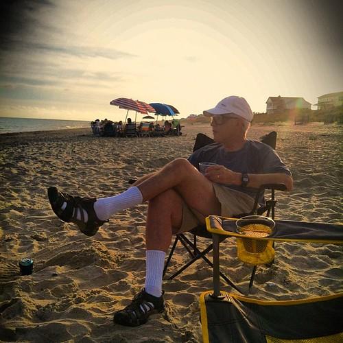 Beach Goer. by benjaminrickard