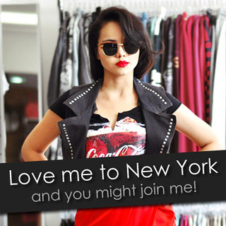 Love me to Win a trip to New York Fashion Week!