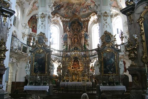 Altarraum - Kloster Andechs