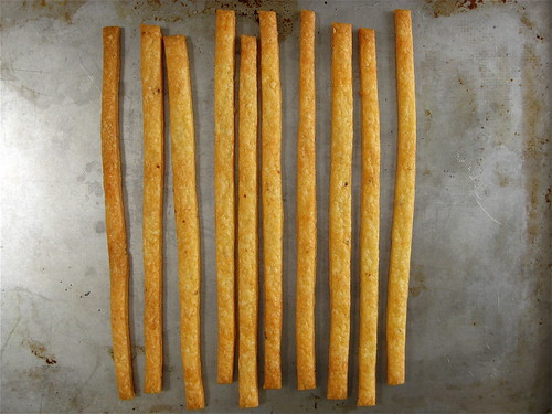 baked cheese straws