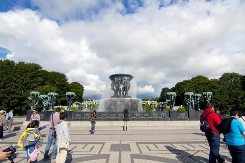 412 Parque Vigeland 20 julio - Oslo