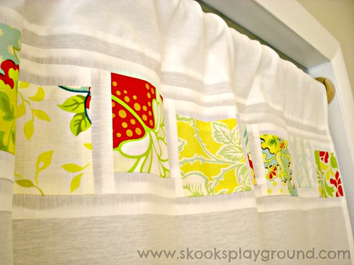 Sewing Room Curtain - Detail 2