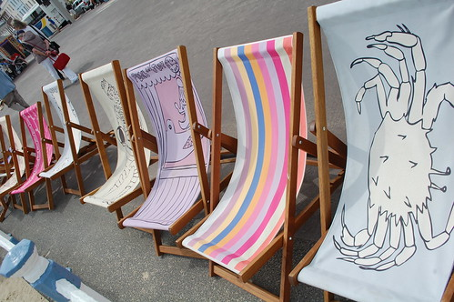 Weymouth deckchairs
