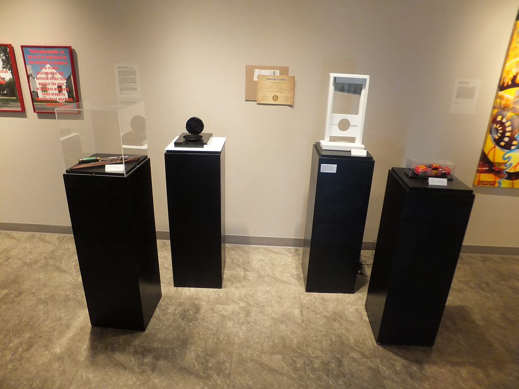 The PACkers installation view